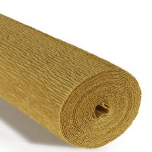 COD. 579 FLORIST CREPE PAPER 180g - Yellow Mustard  Yellow Mustard