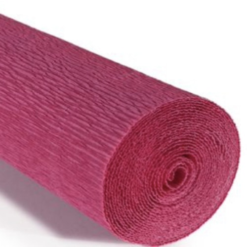 COD. 547 FLORIST CREPE PAPER 180g - Tiziano Red  Marsala Red