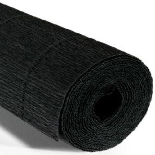 COD. 602 CREPE PAPER Gr.180  Black