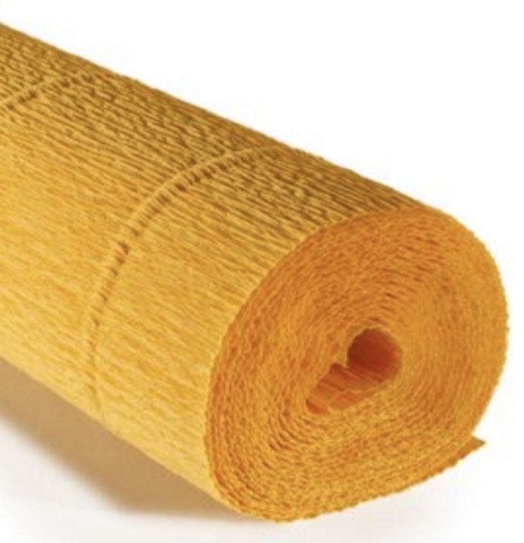 COD. 17E/5 CREPE PAPER Gr.180  Sun Yellow