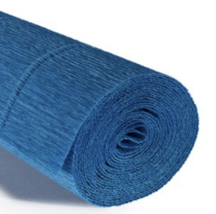 COD. 557 CREPE PAPER Gr.180  Turquoise