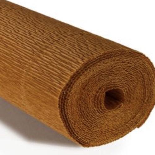 COD. 567 CREPE PAPER Gr.180  Nut Brown