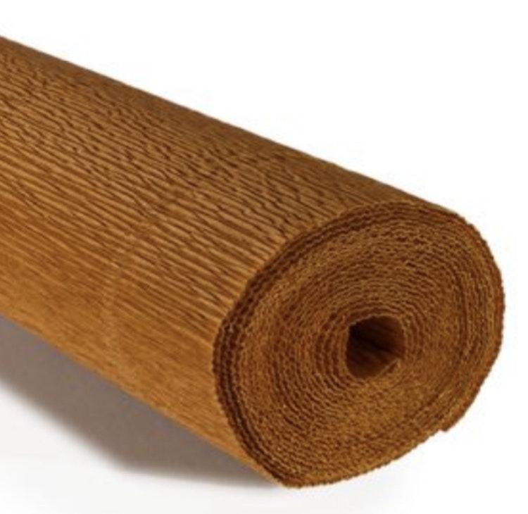 COD. 967 CREPE PAPER Gr.140  Nut Brown