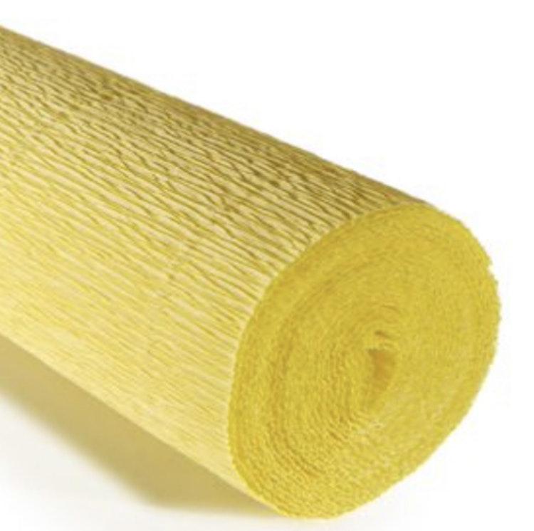 COD. 974 CREPE PAPER Gr.140  Carminio Yellow