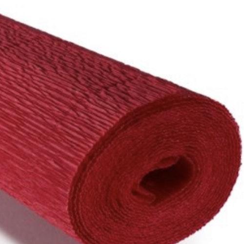 COD. 989 CREPE PAPER Gr.140  Scarlet Red