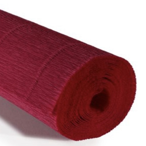COD. 986 CREPE PAPER Gr.140  Carminic Red