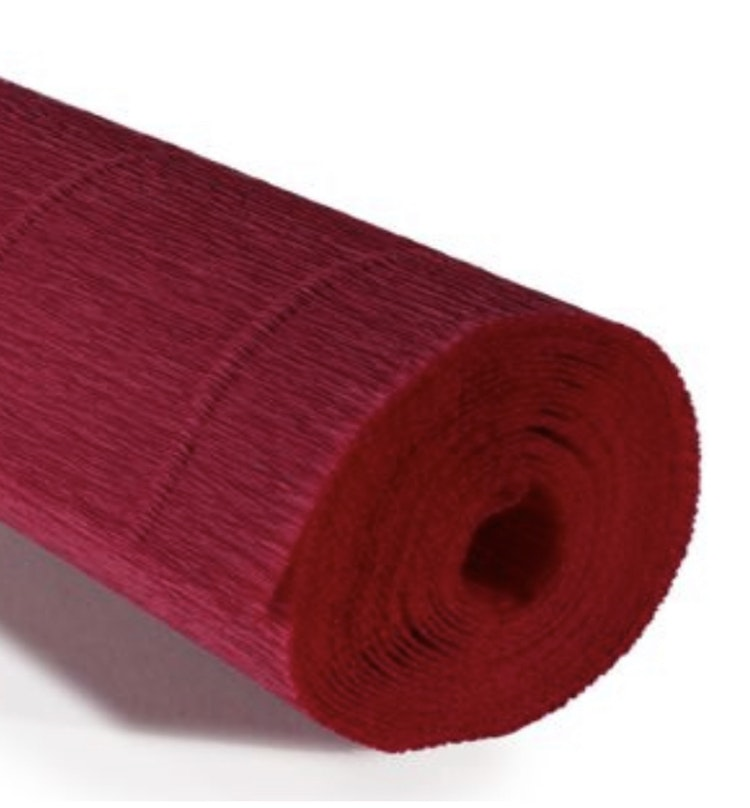 COD. 986 CREPE PAPER Gr.140  Carminic Red