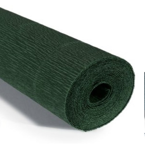 COD. 961 FLORIST CREPE PAPER 140 g. - Forest Green  Forest Green