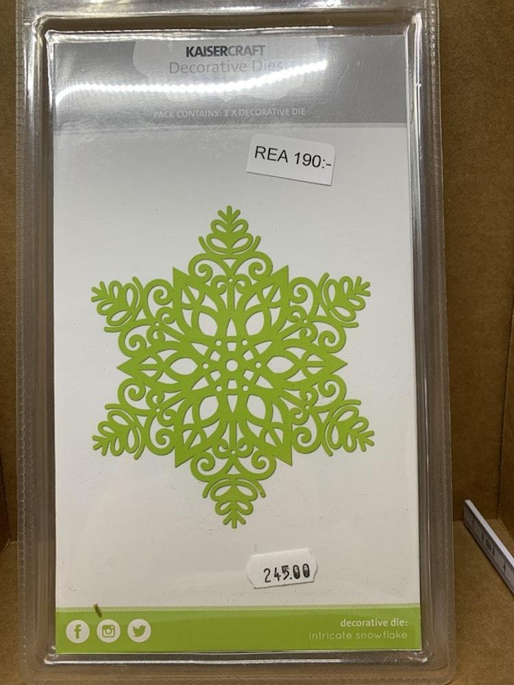 Dies intricate snowflake ord.pris 245kr