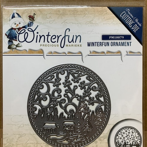 Dies Winterfun ornament ca 8,5 cm
