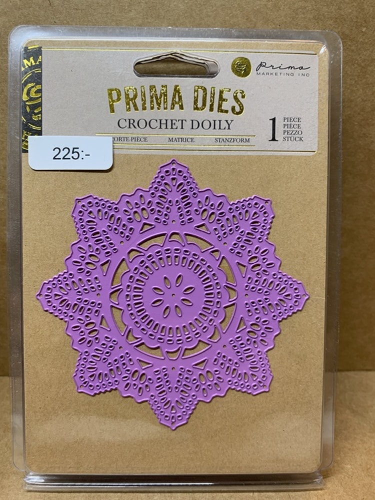 Dies Prima Crochet Doily