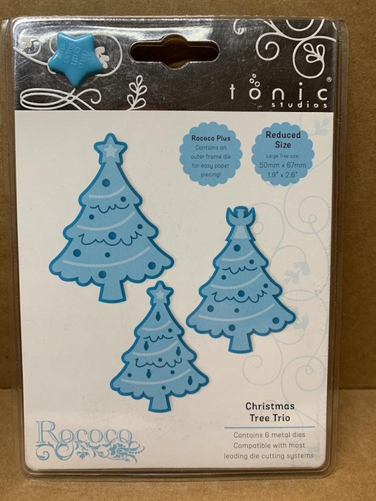 Dies Christmas Tree Trio