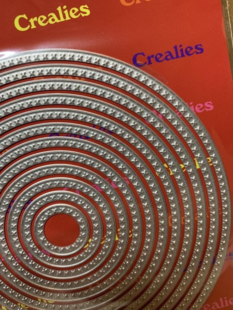 Dies Crea-Nest-Lies XXL mått på den största: ca 13 cm