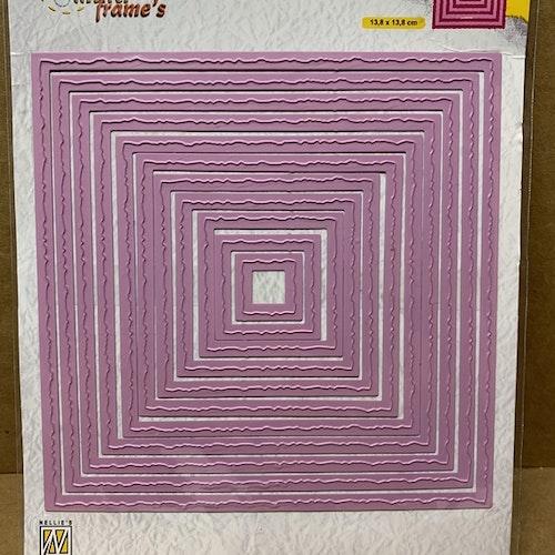 MFD124 - Photo Frames Squares 13,8x13,8 cm