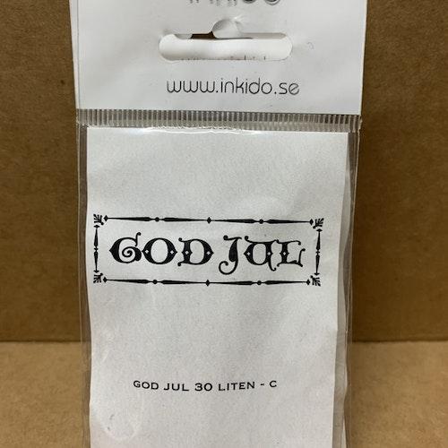 EZ monterad gummistämpel ca 5,5x2 cm