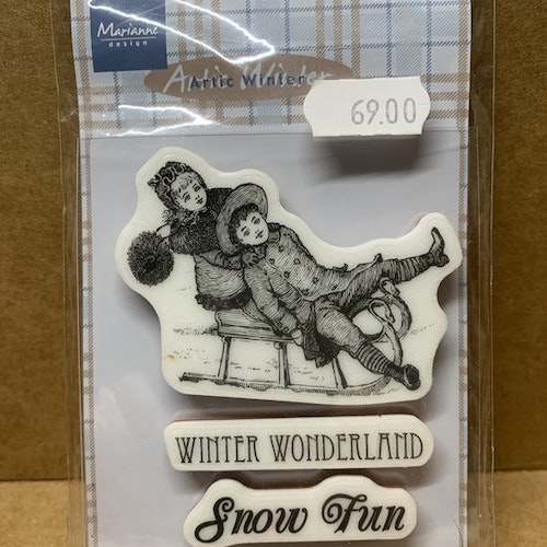 Nr 64, cling stamps