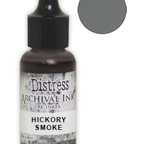Tim Holtz® Distress Archival Re-Inker Hickory Smoke .5 oz