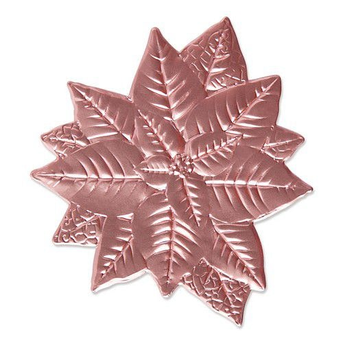 Sizzix 3-D Impresslits Embossing Folder - Poinsettia 665354 Kath Breen