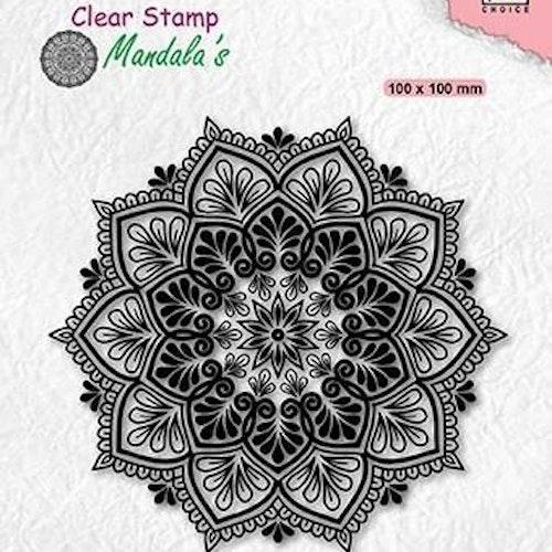 "NS CLEARSTAMP ""Mandala - Starflower"" CSMAN006"