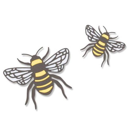 Sizzix Thinlits Dies - Bees 20-04 663852