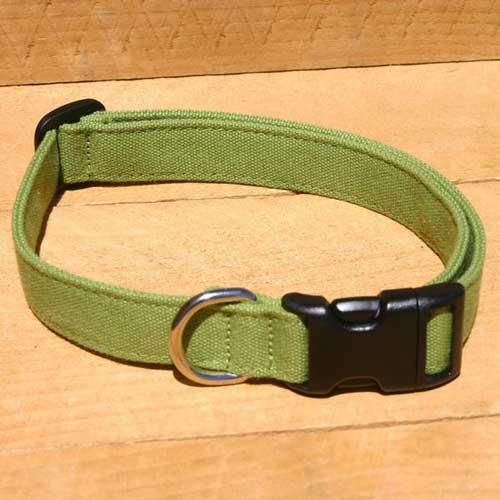 Good Dog Company / Hemp Basic / Green / Halsband L