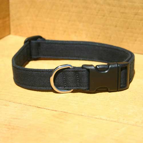 Good Dog Company / Hemp Basic / Black / Halsband XS