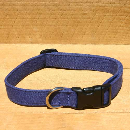 Good Dog Company / Hemp Basic / Blue / Halsband M