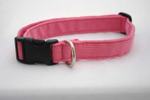 Good Dog Company / Corduroy / Pink / Halsband XL