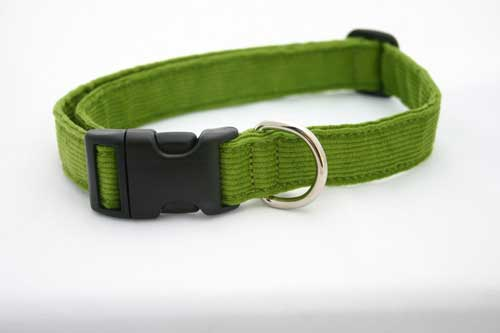 Good Dog Company / Corduroy / Avocado / Halsband L