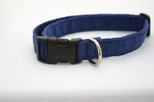 Good Dog Company / Corduroy / Blue / Halsband L