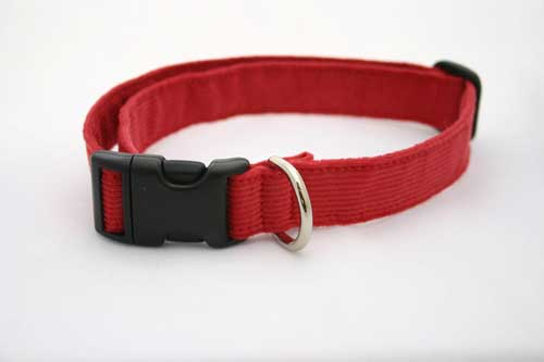Good Dog Company / Corduroy / Red / Halsband L