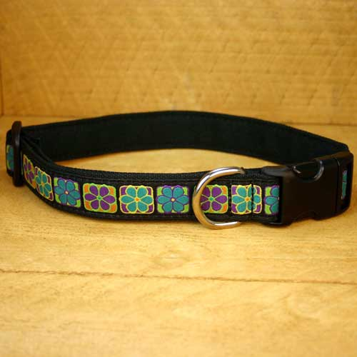 Good Dog Company / Canvas / Flowerama / Halsband L