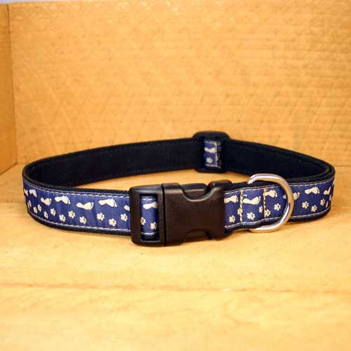 Good Dog Company / Canvas / Best Friends Blue / Halsband S