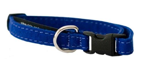 Katthalsband Blue