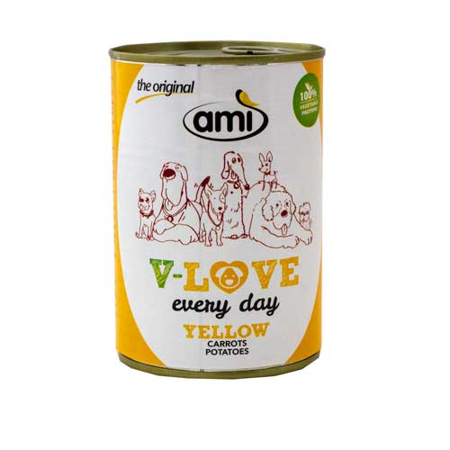 AMI DOG Wet YELLOW 400g
