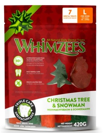 Whimzees Christmas Bag