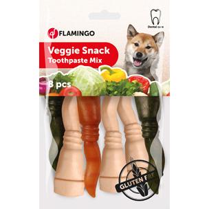 Veggie Snack Tandkräm Mix 8x10cm