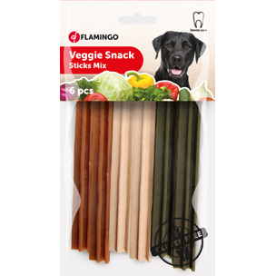 Veggie Snack Mixed Sticks 6x12cm