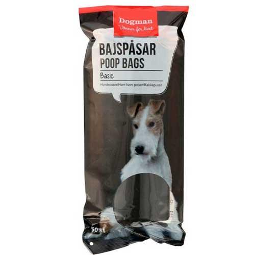 Dogman / Poop Bags Basic 50st