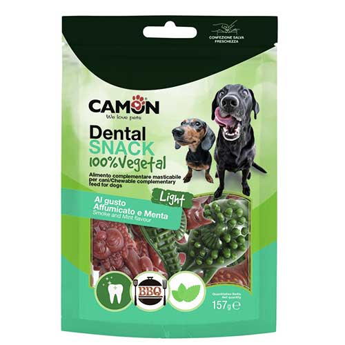 Camon / Dental Snack / AnimalVeg Smoke n Mint Flavour 157g