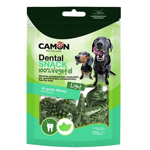 Camon / Dental Snack / SeaVeg Mint Flavour 155g