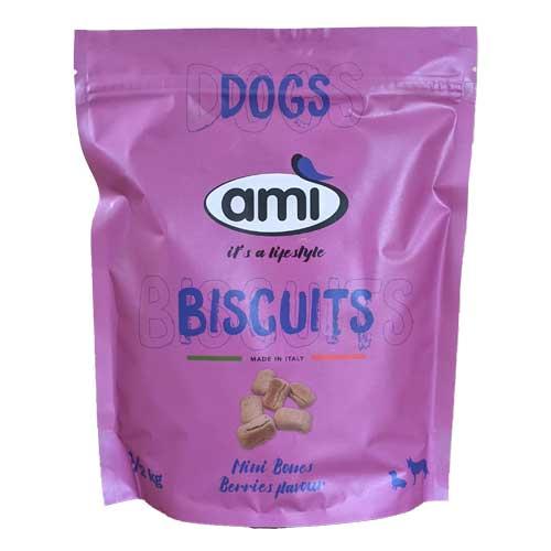 Ami Biscuits Mini Bones Berries Flavour