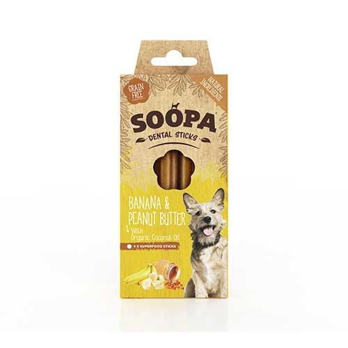 Soopa / Banana & Peanut Butter Sticks