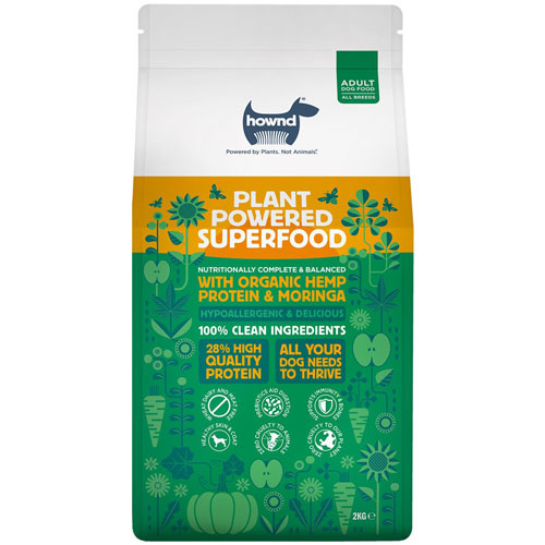 HOWND / Plant Powered Superfood With Hemp Protein And Moringa