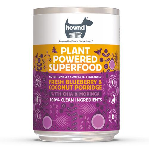 HOWND / Blueberry & Coconut Porridge