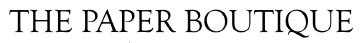 The Paper Boutique - Rozzan Scrapbooking