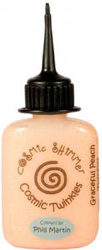 "Cosmic Shimmer Glitterlim ""Graceful Peach"" 30ml"