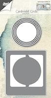 JOY CUT/EMB - Cardmodel Circle