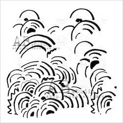 Stencil 15x15 cm