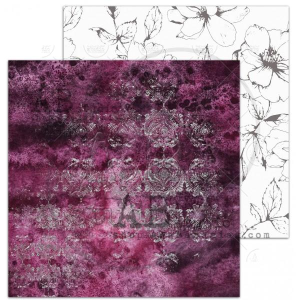 """Diva"" scrapbooking paper set 8x 12'x12' + bonus page"